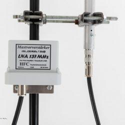 Wetterstation Rhede | Davis Vantage Pro 2 Aktiv Plus | NOAA Wettersatelliten - R2FX | 137 MHz Turnstile - QFH - Antenne | Wetter WebCam